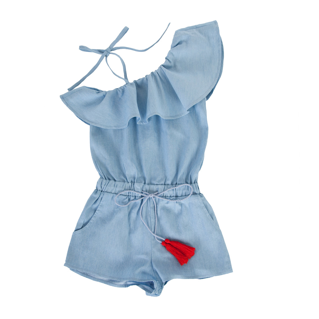 Cia jumpsuit in Chambray