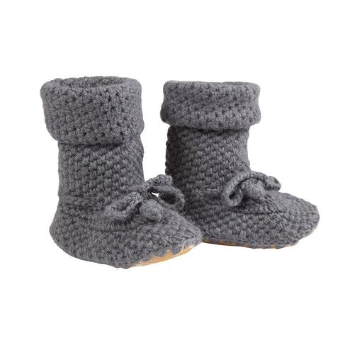 Eskimo Boots in Charcoal - 100% Alpaca Wool