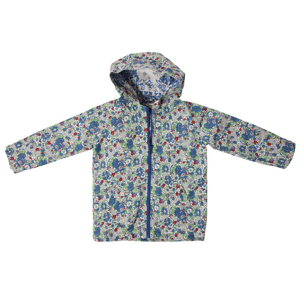 Zoe Raincoat In Lilac Liberty