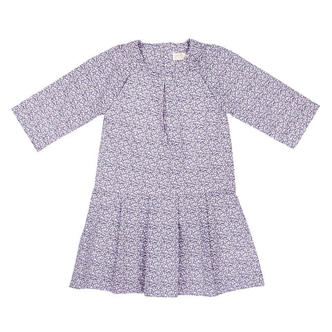 HARTLEY DRESS IN DITZY LILAC