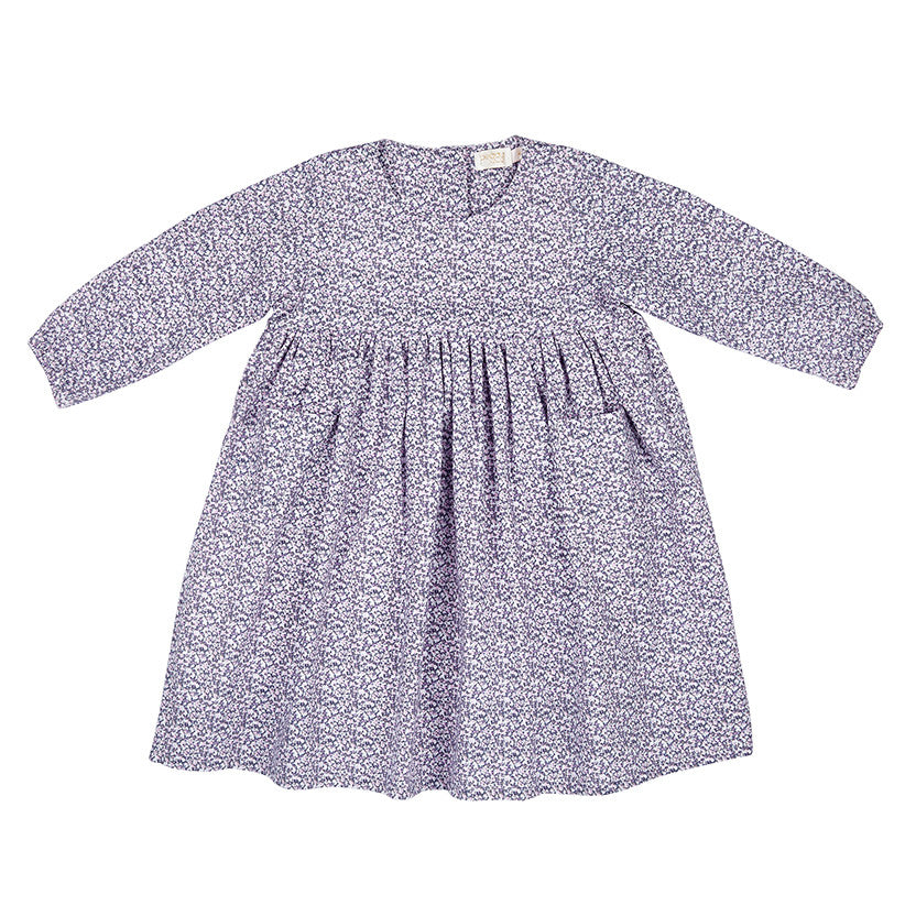 JESS DRESS IN DITZY LILAC