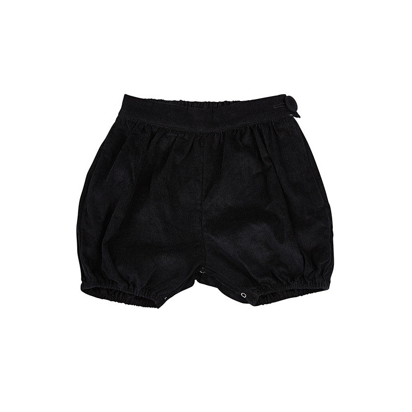 AMELIE SHORTS IN BLACK CORDUROY
