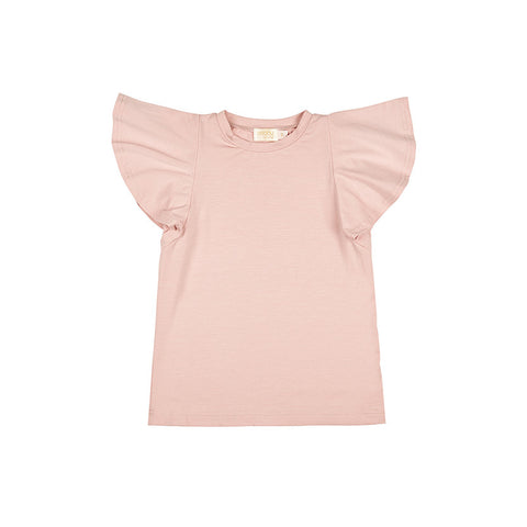 BELLE TEE IN ROSEWOOD