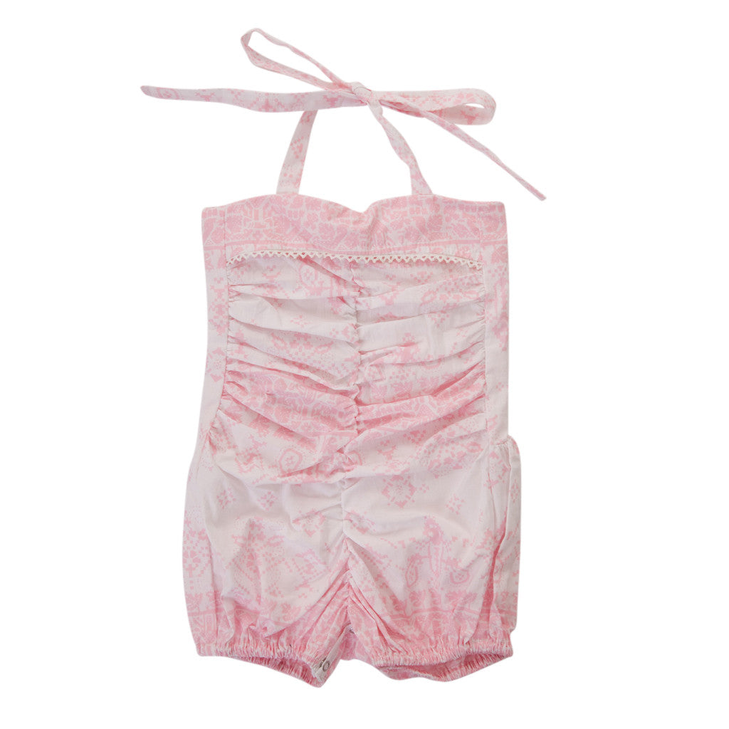 ISLA PLAYSUIT IN HIPPY PINK