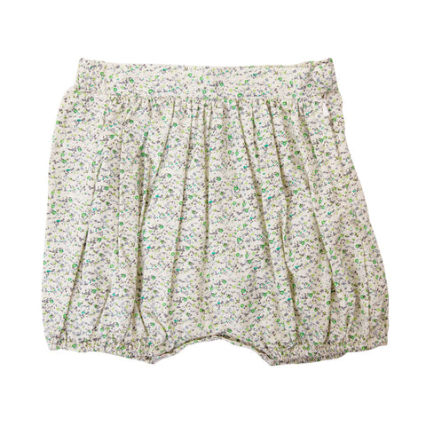 AMELIE SHORT IN MINI GREEN FLORAL