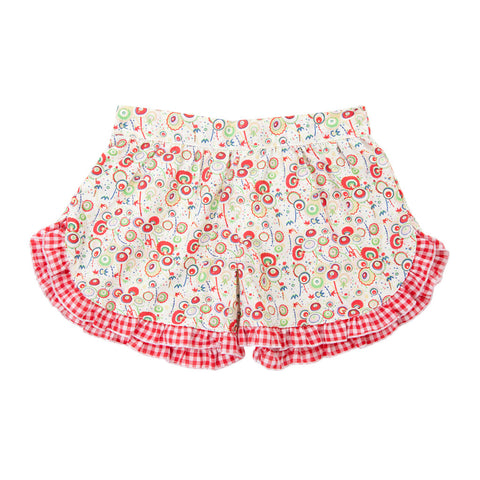 APRIL SHORTS IN MUSHROOM