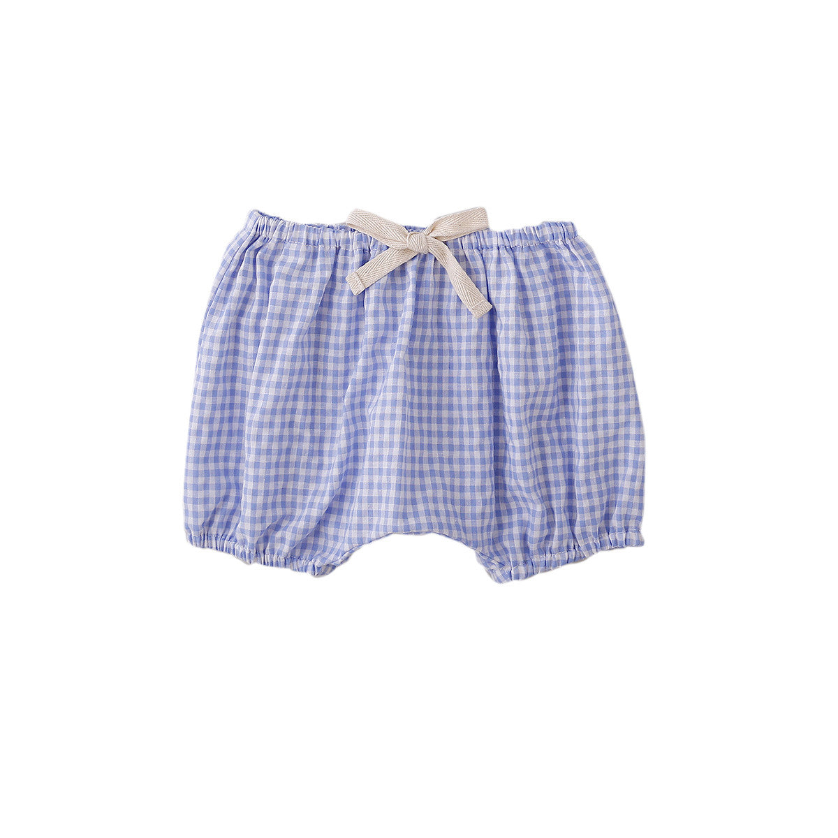 CLOVE NAPPY COVER IN BLUE GINGHAM