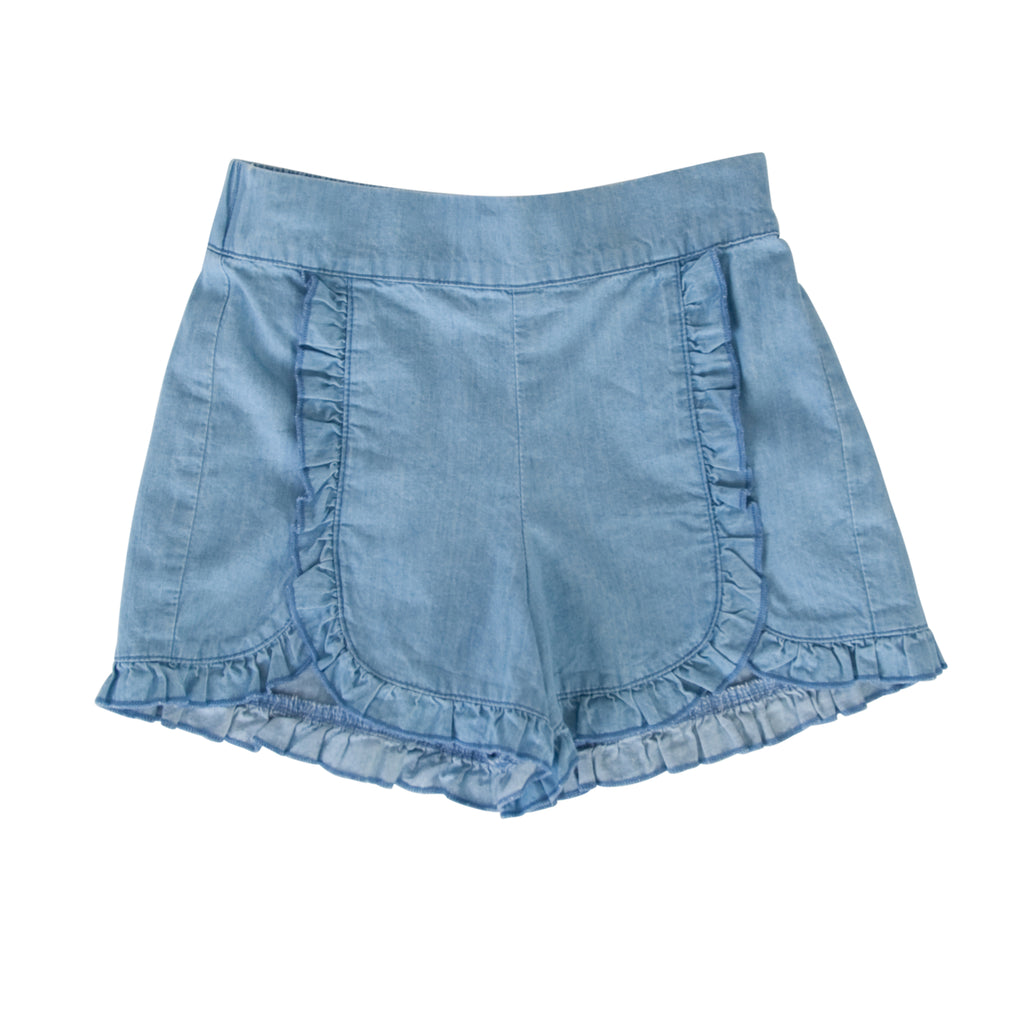 Amara Shorts In Chambray