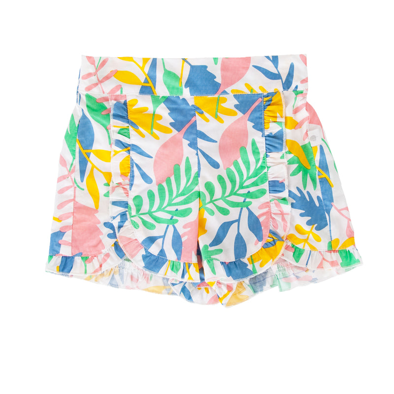 Amara Shorts In Floral Abstract