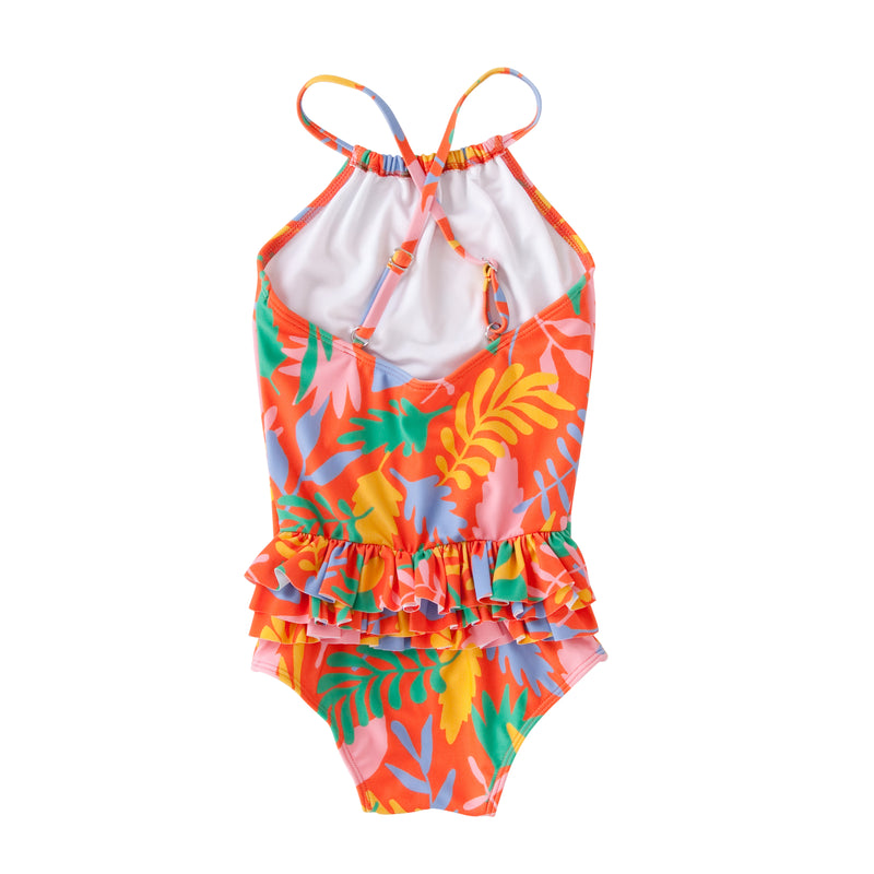 Audrey Frill Swimsuit In Bonnie Floral