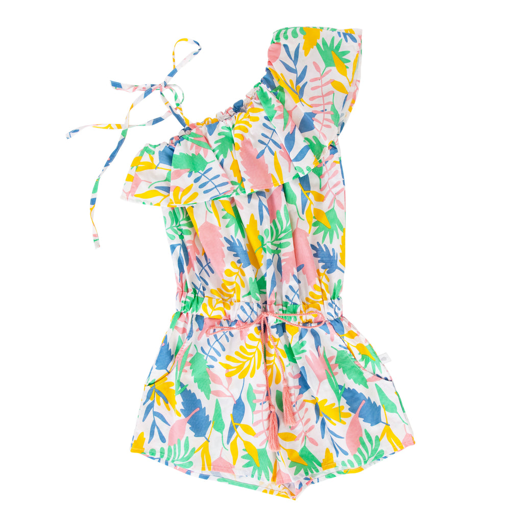 Cia Jumpsuit in Floral Abstract