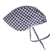 Daisy Bonnet In Navy Gingham