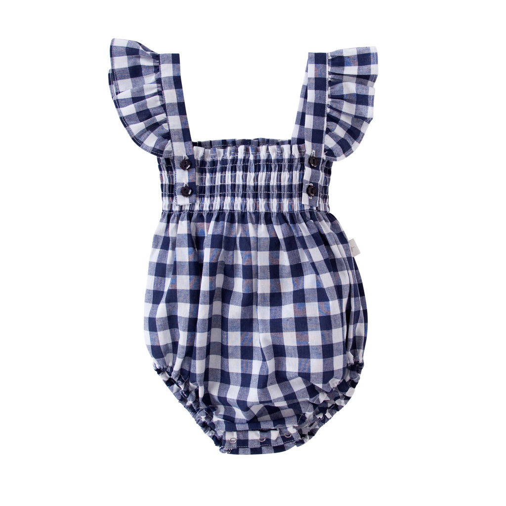 Edie Playsuit In Gingham