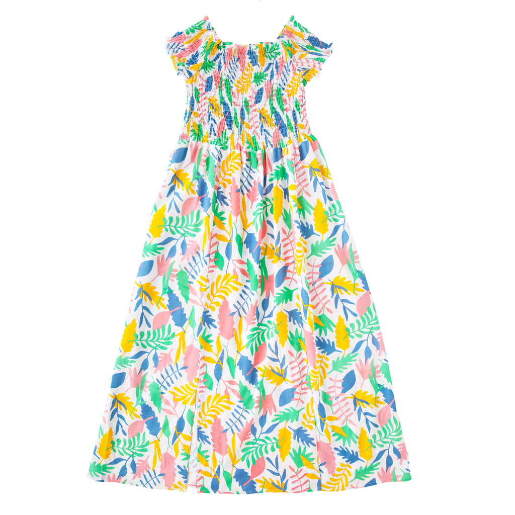 Elsie Dress In Floral Abstract