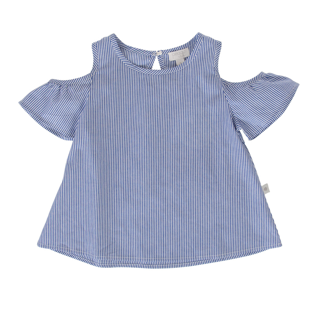 Elune Swing Top In Pinstripe