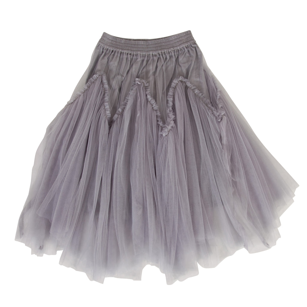 Harper tulle skirt in Blue