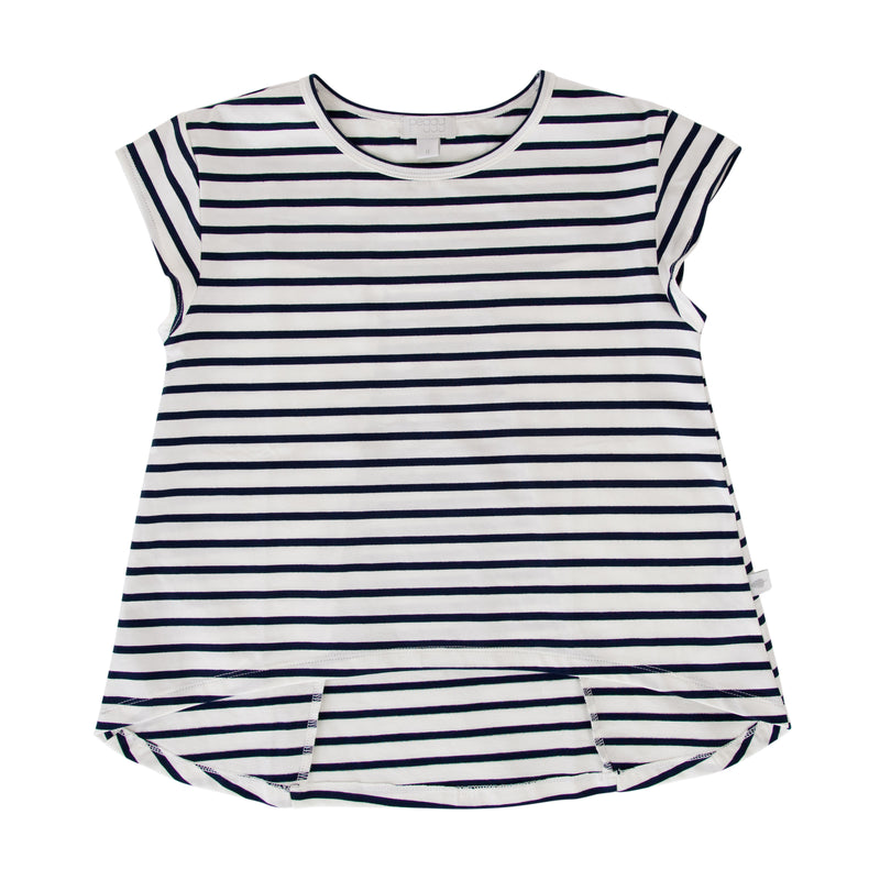 Kit Tee In Navy Stripe