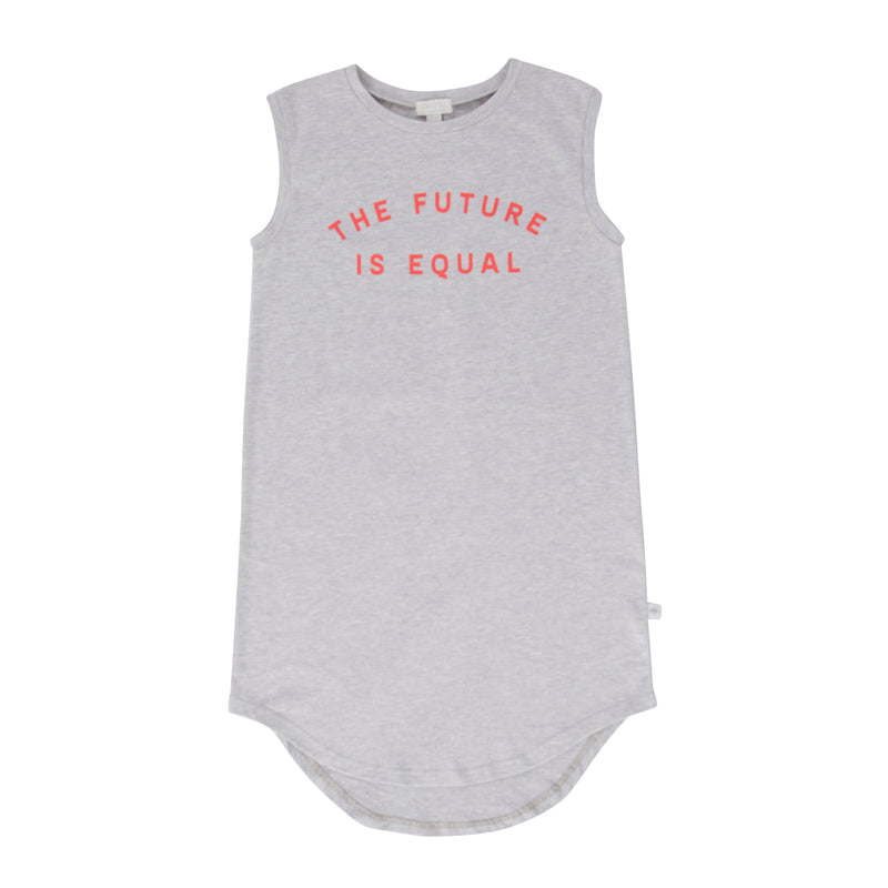 The Future Is Equal Dress Grey