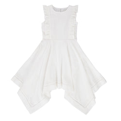 Trinity Dress  White Broidere