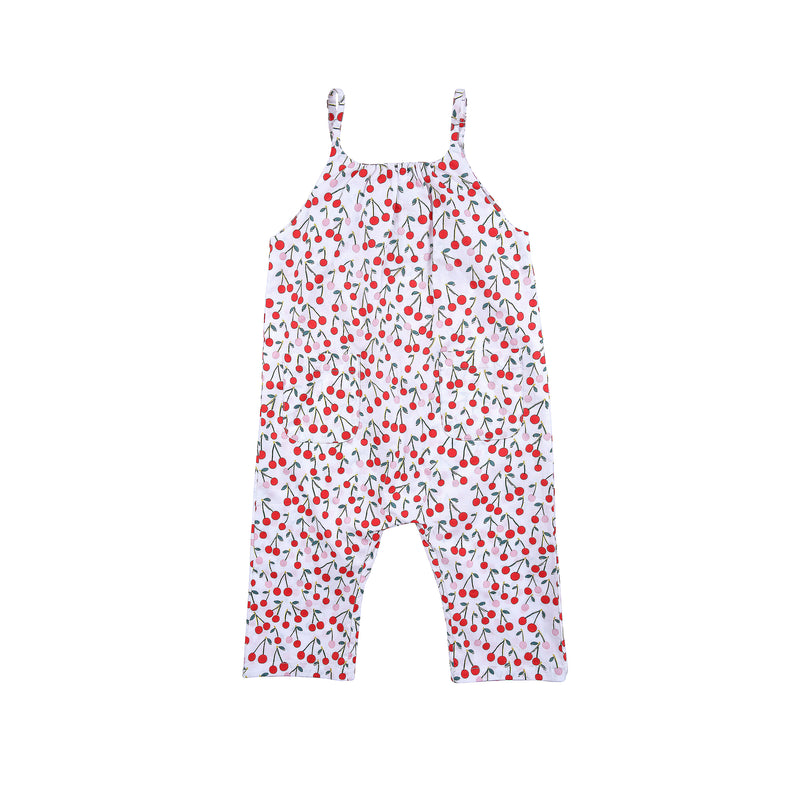 Lucinda Playsuit Cherry Print