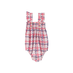 Edie Playsuit Vintage Check