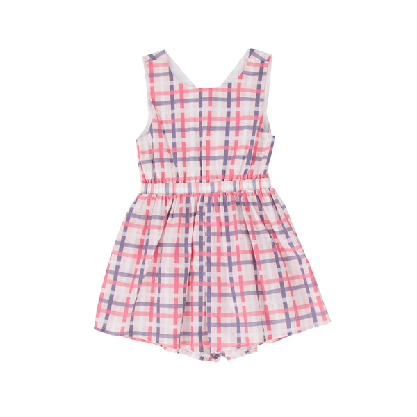 Stella Playsuit Vintage Check