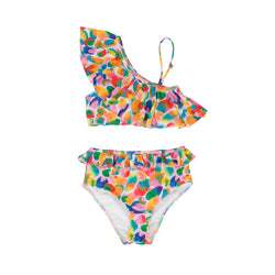 Sunny Two Piece Swimsuit-Painted Camo