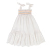 Sierra Dress White Cotton Linen