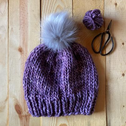 The Bulky Basics Beanie Pattern