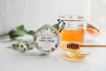 Load image into Gallery viewer, Beeswax Hand Cream 'Bee Soft', Very Moisturizing, Handmade, All Natural Ingredients - Hidden Vale Farm