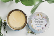 Load image into Gallery viewer, Beeswax Solid Hand Lotion Bar, First Aid for Very Dry Hands, Super Moisturizing, All Natural - Hidden Vale Farm