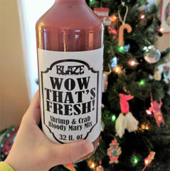 WOW That's Fresh! - By the Case (12) - Shrimp & Crab Bloody Mary Mix