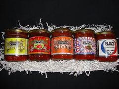 5 Pack - Hot Salsa Holiday Gift Pack (3)