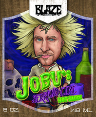 Jobu's Serrano Lime Hot Sauce