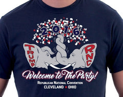 "RNC 2016 Convention in Cleveland, OH.. ""Welcome to the Party!"" (Large)"