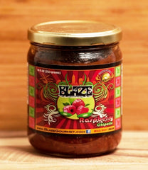 BACK IN STOCK -  Blaze Gourmet (Fruit) Raspberry Chipotle Salsa
