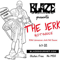 "Blaze Gourmet ""The Jerk"" ... Jamaican Jerk Hot Sauce"