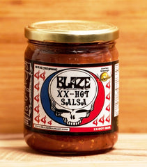 'Blaze Your Face' XX-Hot Salsa