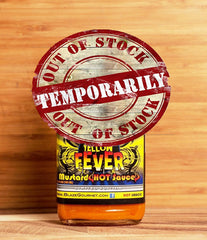 OUT OF STOCK - Yellow Fever Hot Mustard