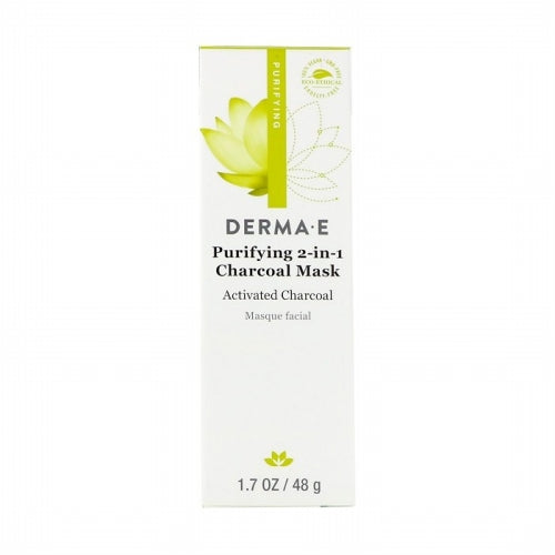 Derma E, Purifying 2-in-1 Charcoal Mask, 1.7 oz (48 g)