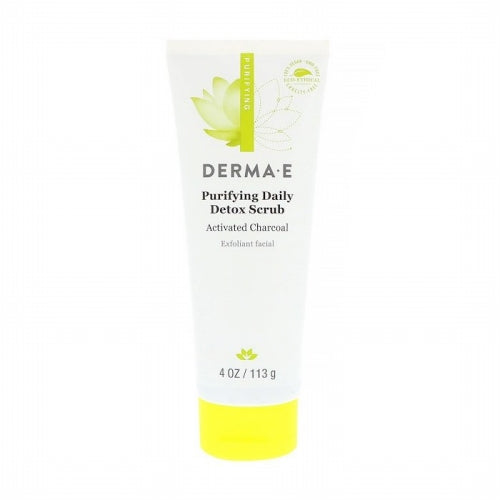 Derma E, Purifying Daily Detox Scrub, 4 oz (113 g)