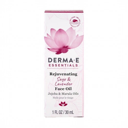 Derma E, Rejuvenating Face Oil, Sage & Lavender , 1 fl oz (30 ml)