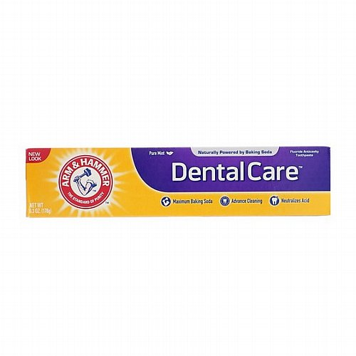 Arm & Hammer, Dental Care, Fluoride Anticavity Toothpaste, Pure Mint, 6.3 oz (178 g)