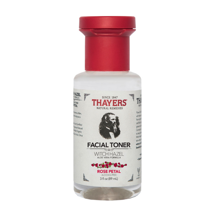 Thayers Rose Petal Witch Hazel Facial Toner, 3 fl. oz.