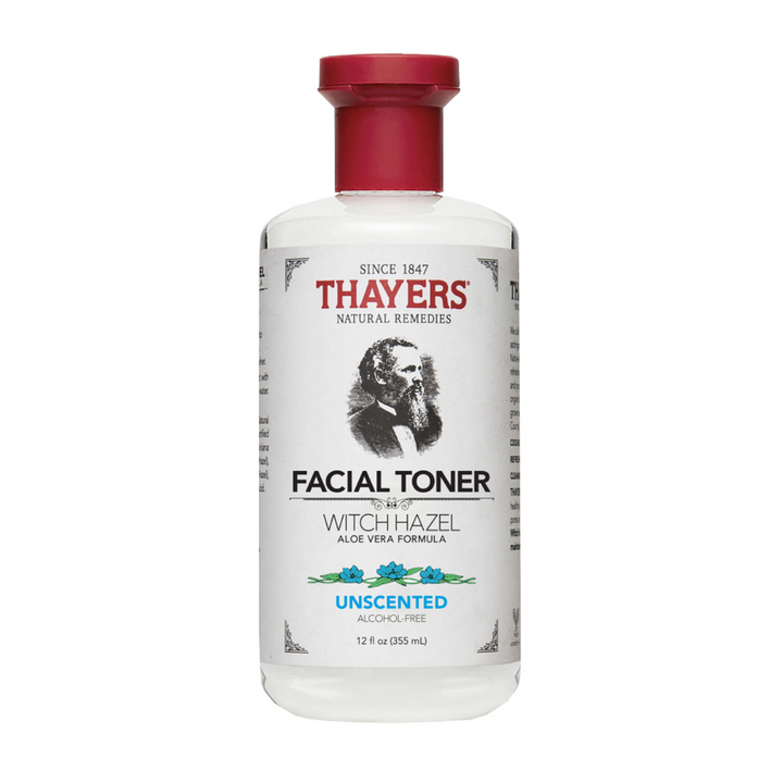 Thayers Unscented Witch Hazel Facial Toner, 12 floz (355 ml)