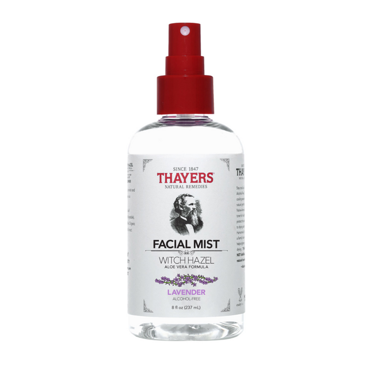 Thayers Witch Hazel Alcohol-Free Facial Mist Toner with Aloe Vera Formula Lavender - 8 fl. oz.