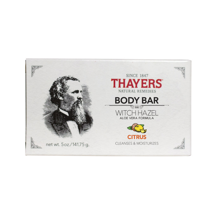 Thayers - Body Bar Soap with Witch Hazel and Aloe Vera Citrus - 5 oz.