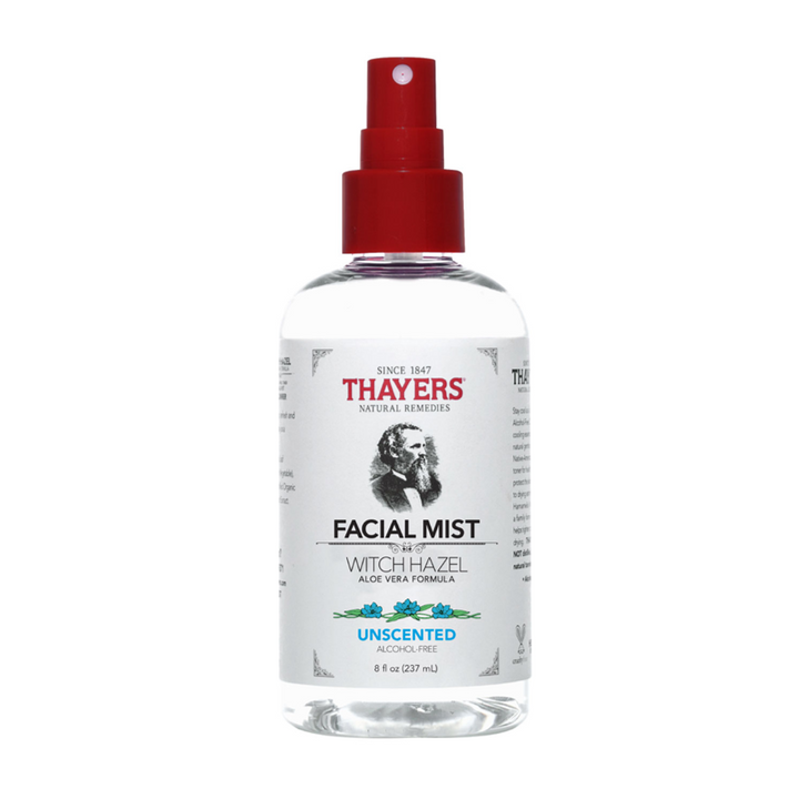 Thayers - Witch Hazel Alcohol-Free Facial Mist Toner with Aloe Vera Formula Unscented - 8 fl. oz.