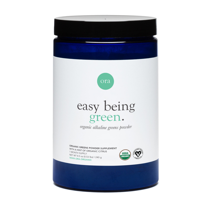Ora Organic, Easy Being Green, Green Superfood Powder, 30 servings, 240g (8.5oz).