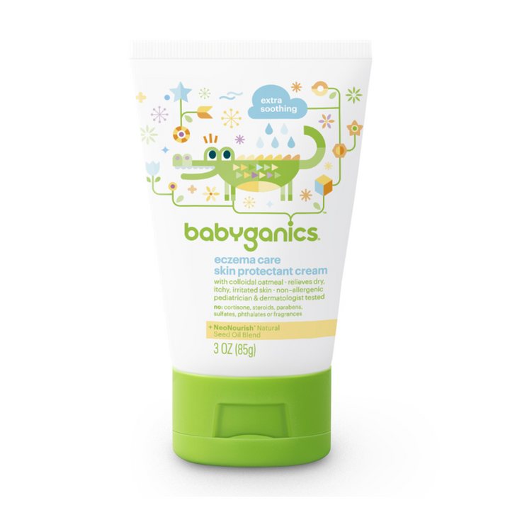 BabyGanics, Eczema Care, Skin Protection Cream, 3 oz (85g)